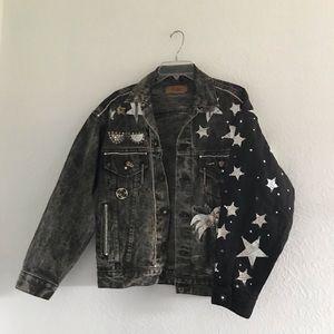 Levi's black retro jean jacket 〰️